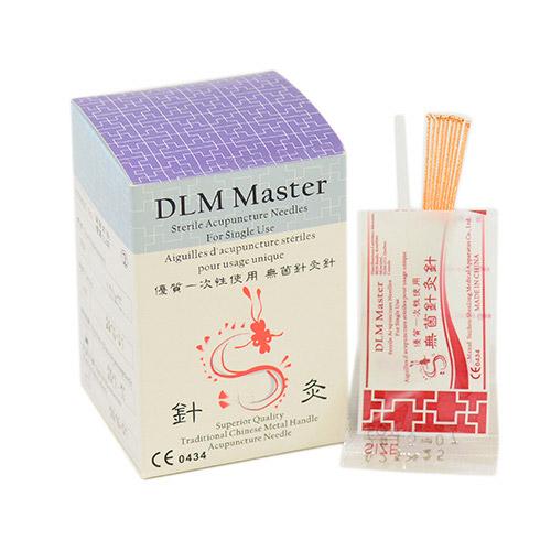 Aiguilles d'acupuncture DLM emballées par 10