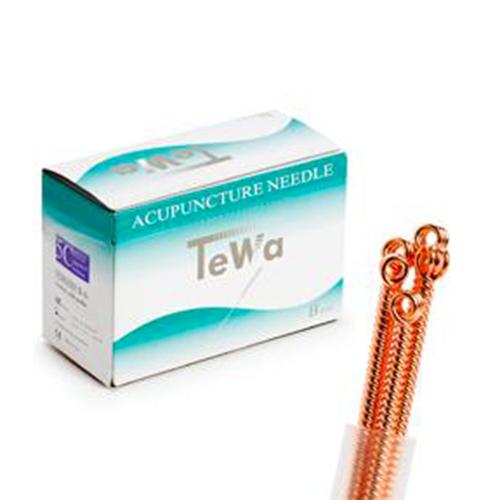 Aiguilles d'acupuncture TeWa emballées par 5